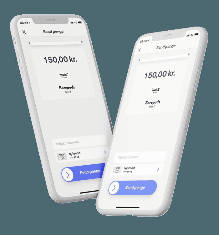 mobilepay betaling til barepuds